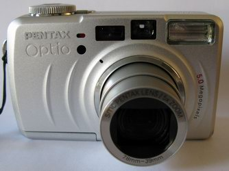 PENTAX Optio 555